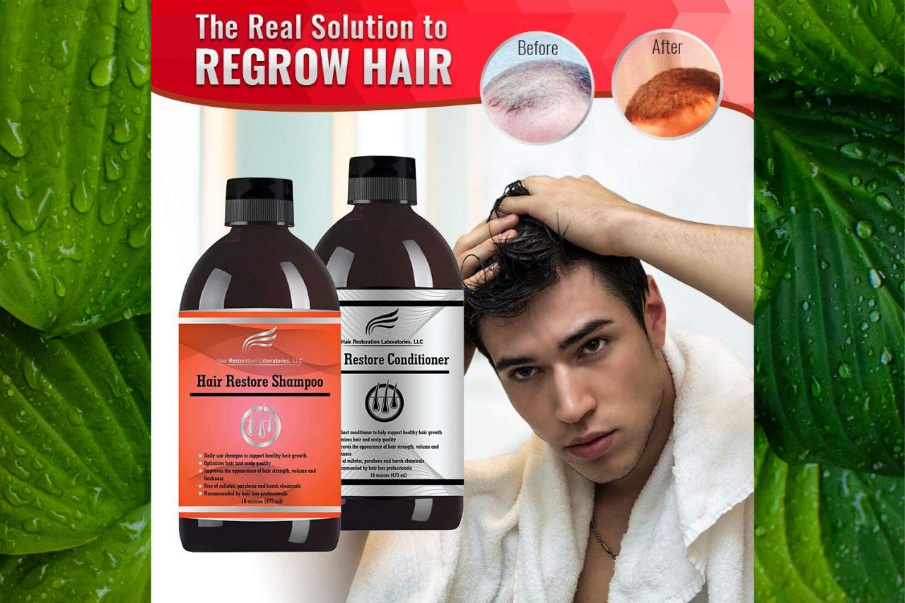 Hair Restoration Laboratories Shampoo Review The BEST Hair Loss Shampoo